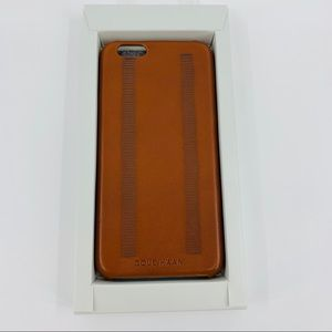Cole Haan British Tan Leather IPhone 6 Case